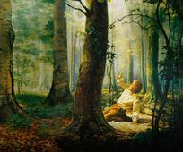 Joseph in the Grove